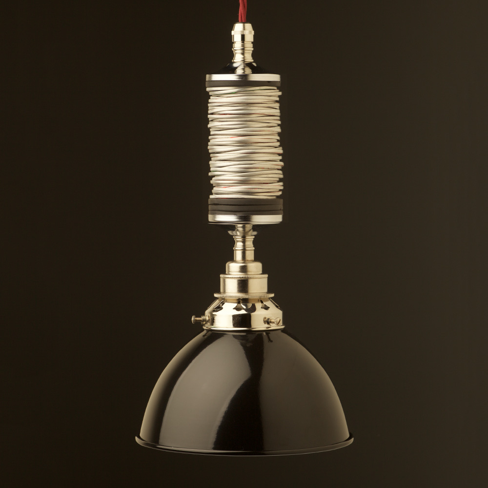 & Drop Tube Pendant Light Fitting of Can Top Rings